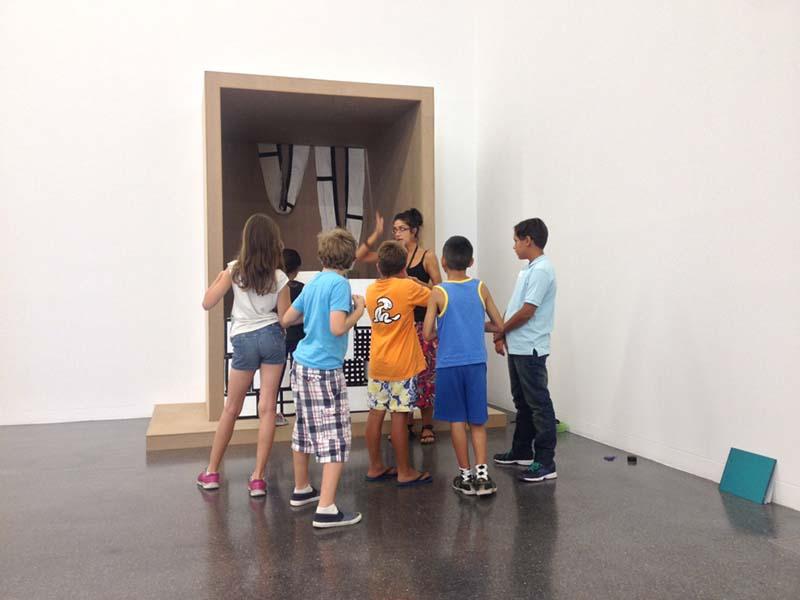 TEA Tenerife Espacio de las Artes recibe este verano a más de 150 niños y jóvenes en el programa didáctico Mano a mano
