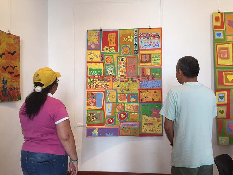 """La Sala de Exposiciones del Cabildo de El Hierro acoge la muestra """"Reflexiones sobre el amor y el arte en la diversidad"""""""