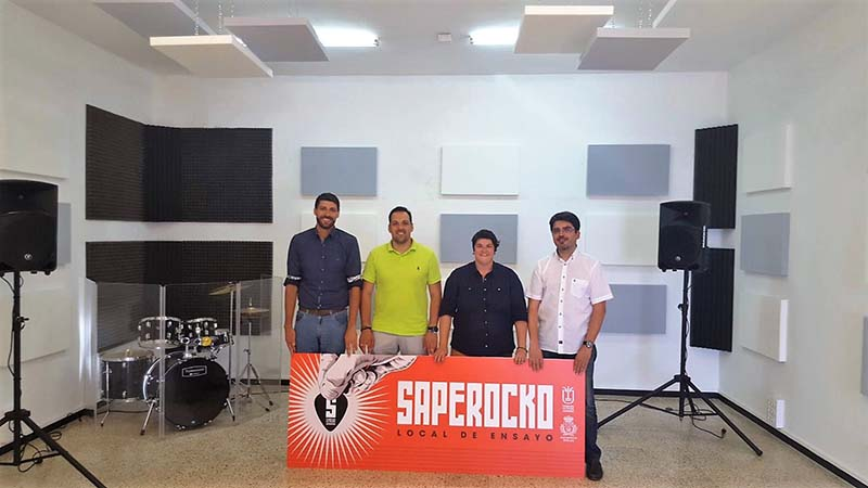 El Cabildo abre el primer local de ensayo para los artistas de la Isla en Breña Alta