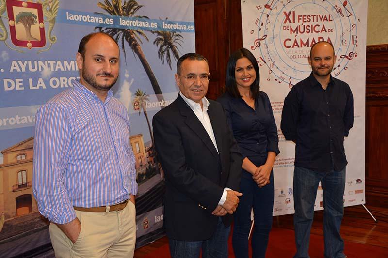 El Festival de Música de Cámara de La Orotava se convierte en referente Regional