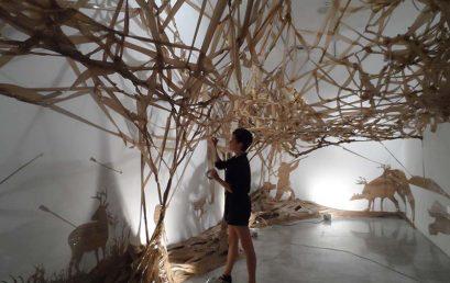El Centro de Arte La Regenta inaugura la exposición 'Un extraño lugar', de Noelia Villena