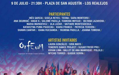 El Festival Internacional de la Canción de las Islas Canarias cita a 19 participantes en Los Realejos