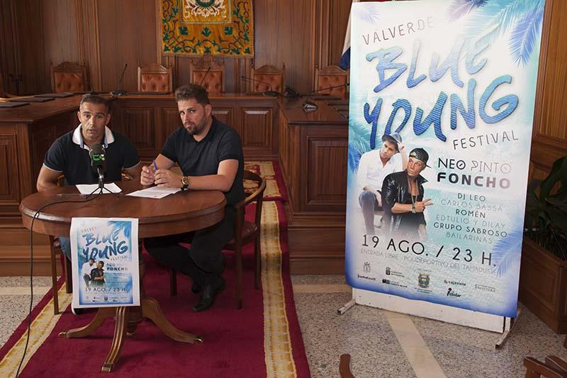 El Tamaduste acogerá el 19 de agosto la primera edición del festival de música 'Valverde Blue Young Festival'
