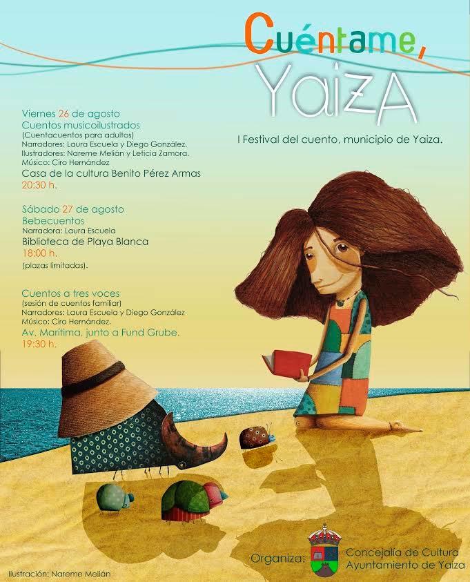 """""""Cuéntame, Yaiza"""", I Festival del Cuento de Yaiza, este viernes y sábado"""