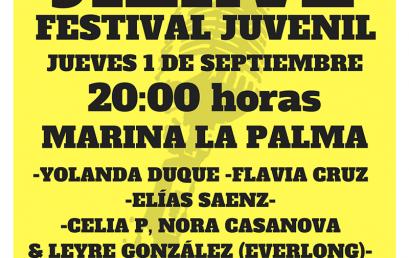 """La Marina de La Palma acoge el festival """"Jierve-Jierve"""", un escaparate para dar voz a los jóvenes talentos de la Isla"""