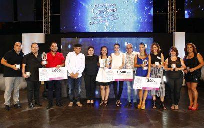 María José Lugo y Marta Rosa, ganadoras del XVII Festival de la Canción de Candelaria