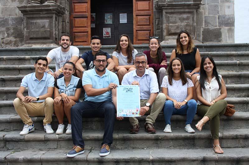 El Ayuntamiento de Santa Cruz de La Palma apoya la celebración de la Semana Joven