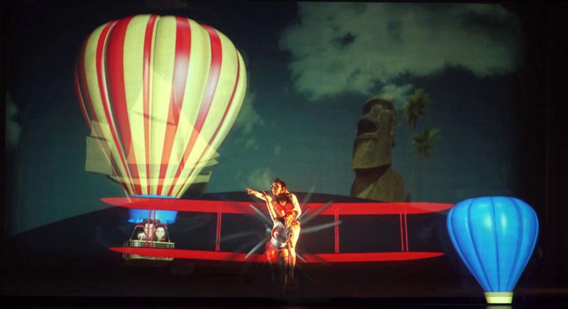 Roseland Musical llega al FAM'16 con una propuesta para el público infantil, Viaje al centro de la tierra (S.XXI)
