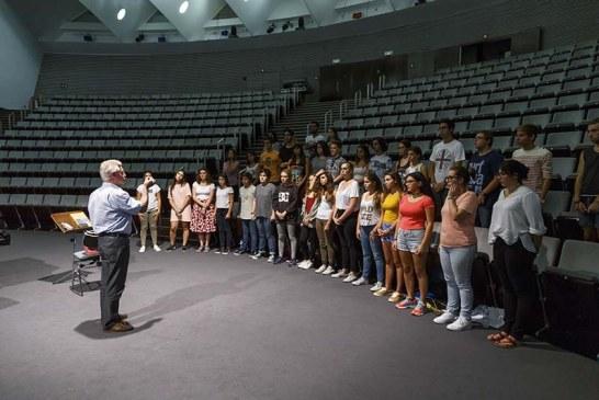 El Coro Juvenil de Auditorio de Tenerife ofrece su primera actuación en el Festival Índice