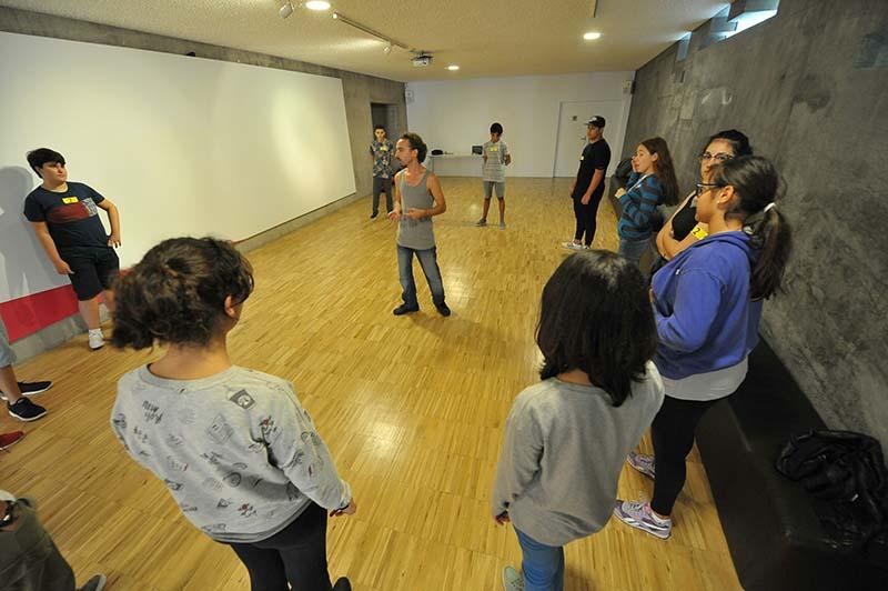 Más de 250 escolares se citan en la primera jornada del Festival Índice