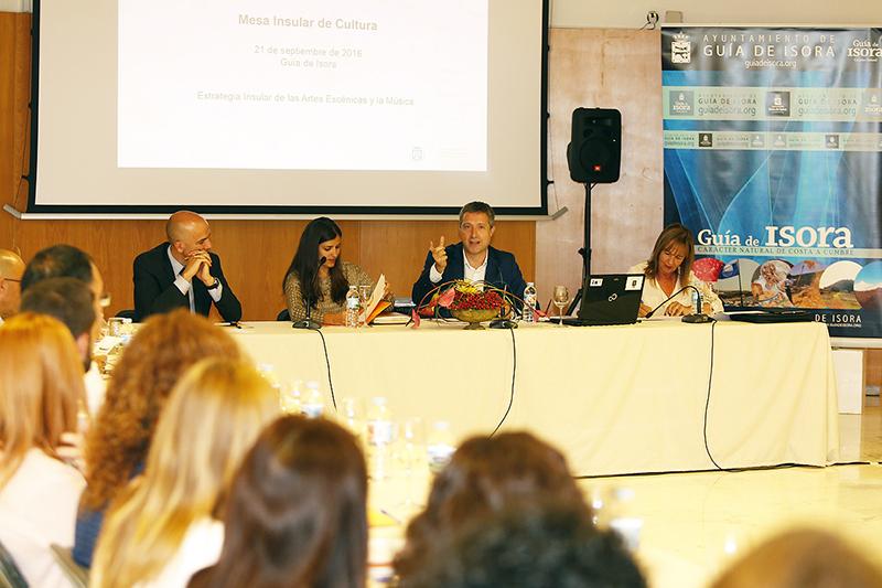 El Cabildo propone a los ayuntamientos la creación de la Red de Espacios Escénicos de Tenerife