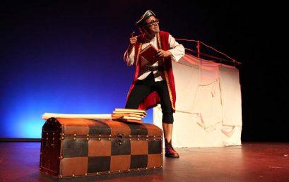 La compañía Reciclown lleva a La Orotava el espectáculo los Piratas ilustrados