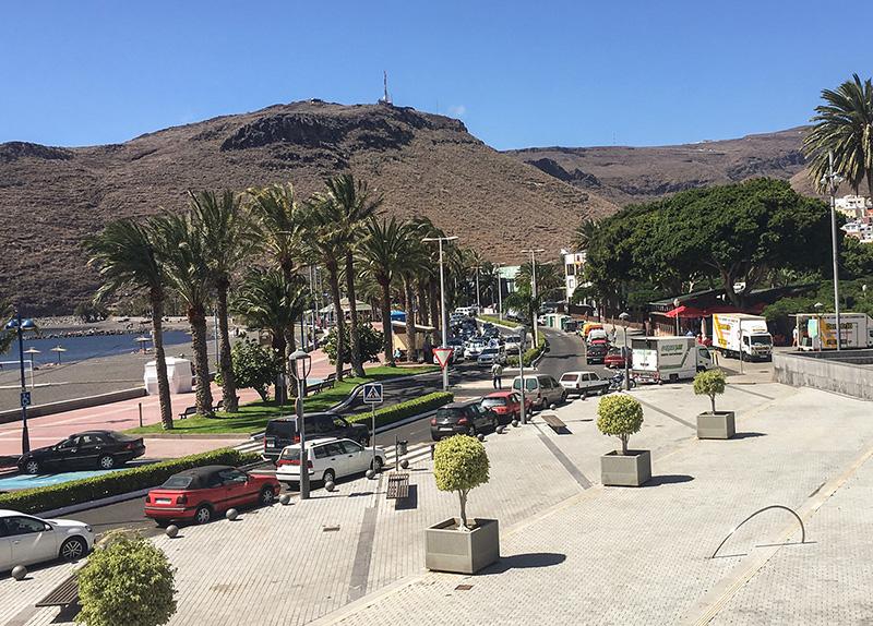 San Sebastián de La Gomera se convierte en un gran plató de cine