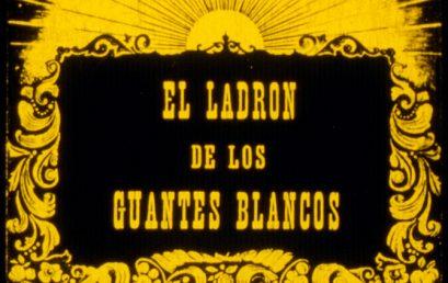 90 aniversario del estreno de 'El ladrón de los guantes blancos', la primera película canaria