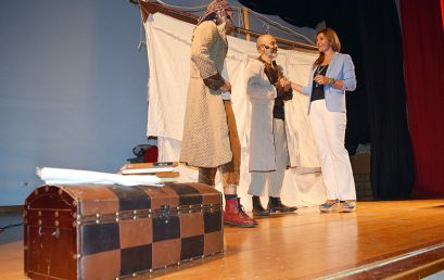 Una divertida obra teatral hará apología de la lectura en los colegios de Salud-La Salle