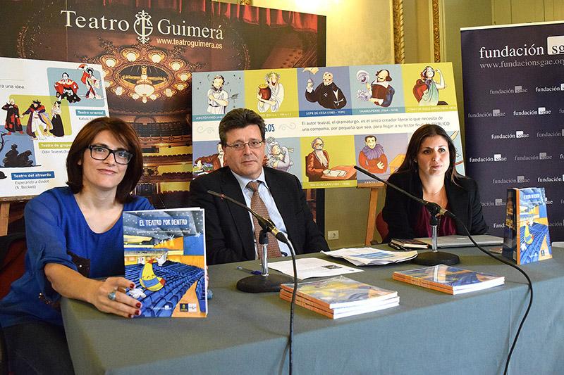 El libro 'El teatro por dentro' se convierte en una guía para visitas pedagógicas al Guimerá