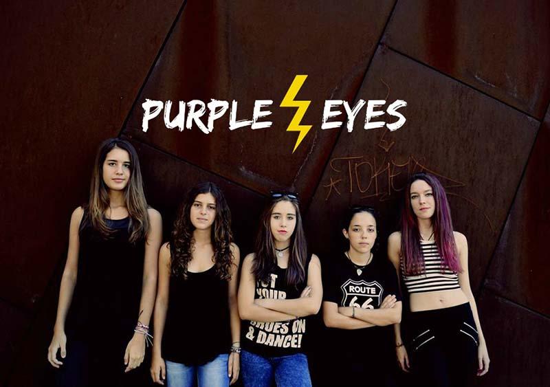 El quinteto femenino Purple Eyes actúa este sábado en el Teatro Guimerá