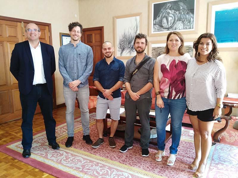 Un equipo de la Escuela de Cine y Televisión de Münich busca localizaciones para rodar un largometraje en 2017 en La Palma
