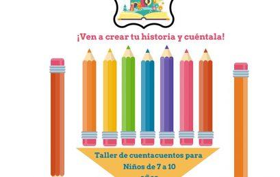 Cultura de La Laguna ofrece un taller artístico para iniciar a los niños en la creación literaria