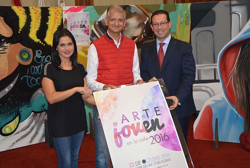 Más de 500 jóvenes artistas se darán cita el próximo sábado 22 en Arte Joven en la Calle