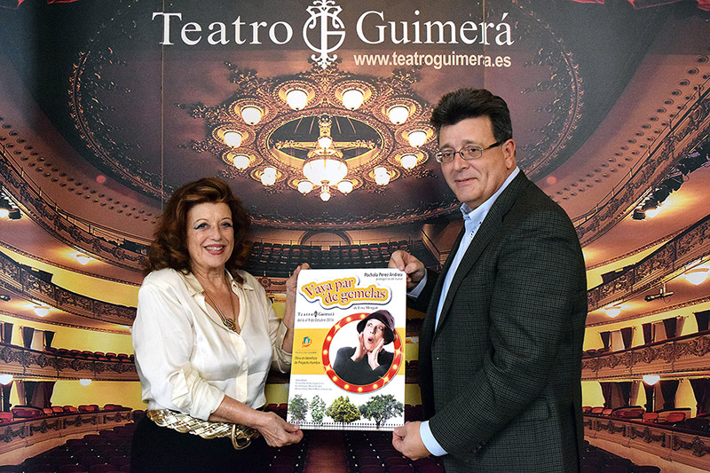'Vaya par de gemelas' vuelve al Teatro Guimerá con Pochola Pérez-Andreu