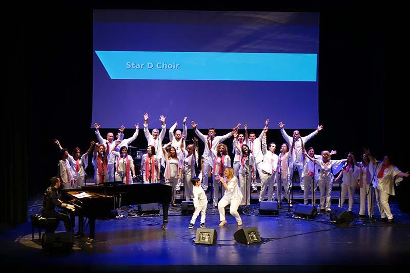 Star D Choir acerca la esencia del gospel al Teatro Príncipe Felipe de Tegueste junto con el timple de Beselch Rodríguez