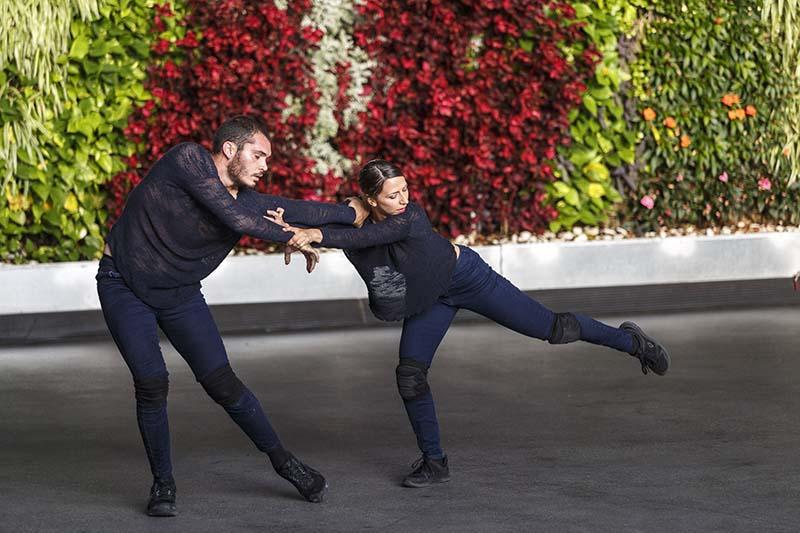 Tenerife Danza Lab estrena Kausa en el marco del FAM, pieza a la que dan vida Carmen Macías y Daniel Morales