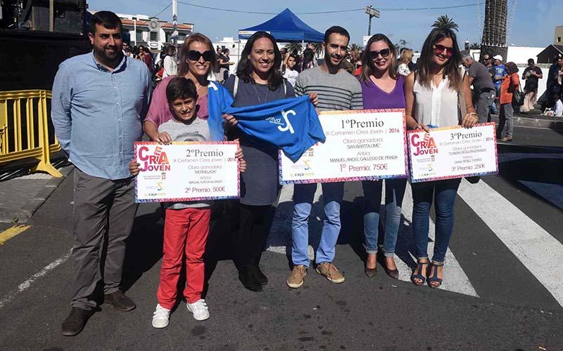 El Certamen Crea Joven 2016 de San Bartolomé ya tiene ganadores