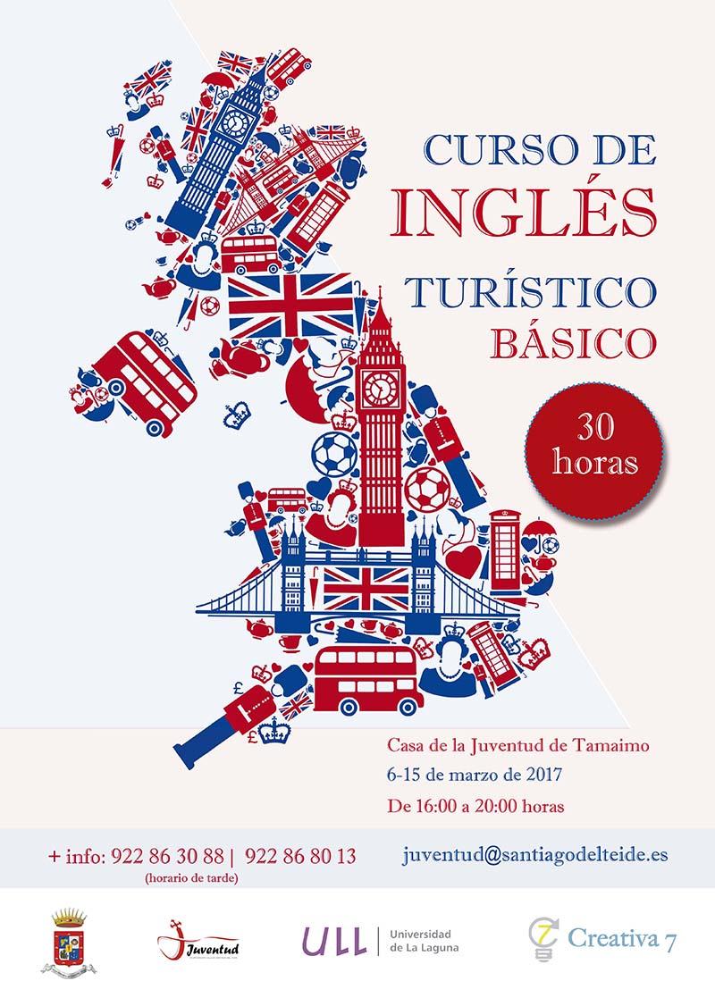 """Creativa 7 impartirá el curso """"Inglés Turístico Básico"""" en Santiago del Teide"""