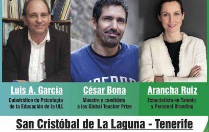Conferencia: Los nuevos retos de la educación, el próximo 9 de junio en La Laguna