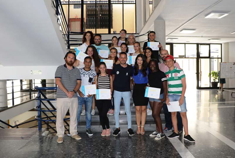 20 jóvenes de Arona aprenden a ser dinamizadores juveniles con el respaldo de la ULL y de Creativa 7