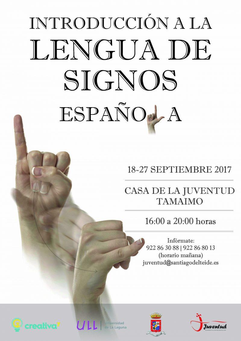 Introducción a la Lengua de Signos