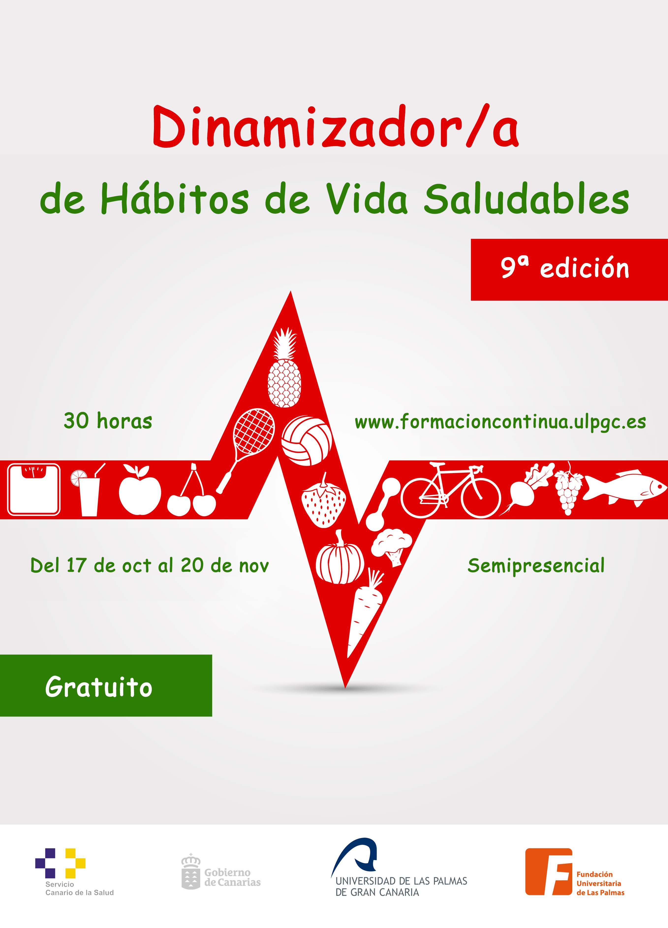 Dinamizador/a de Hábitos de Vida Saludables (9ª edición)