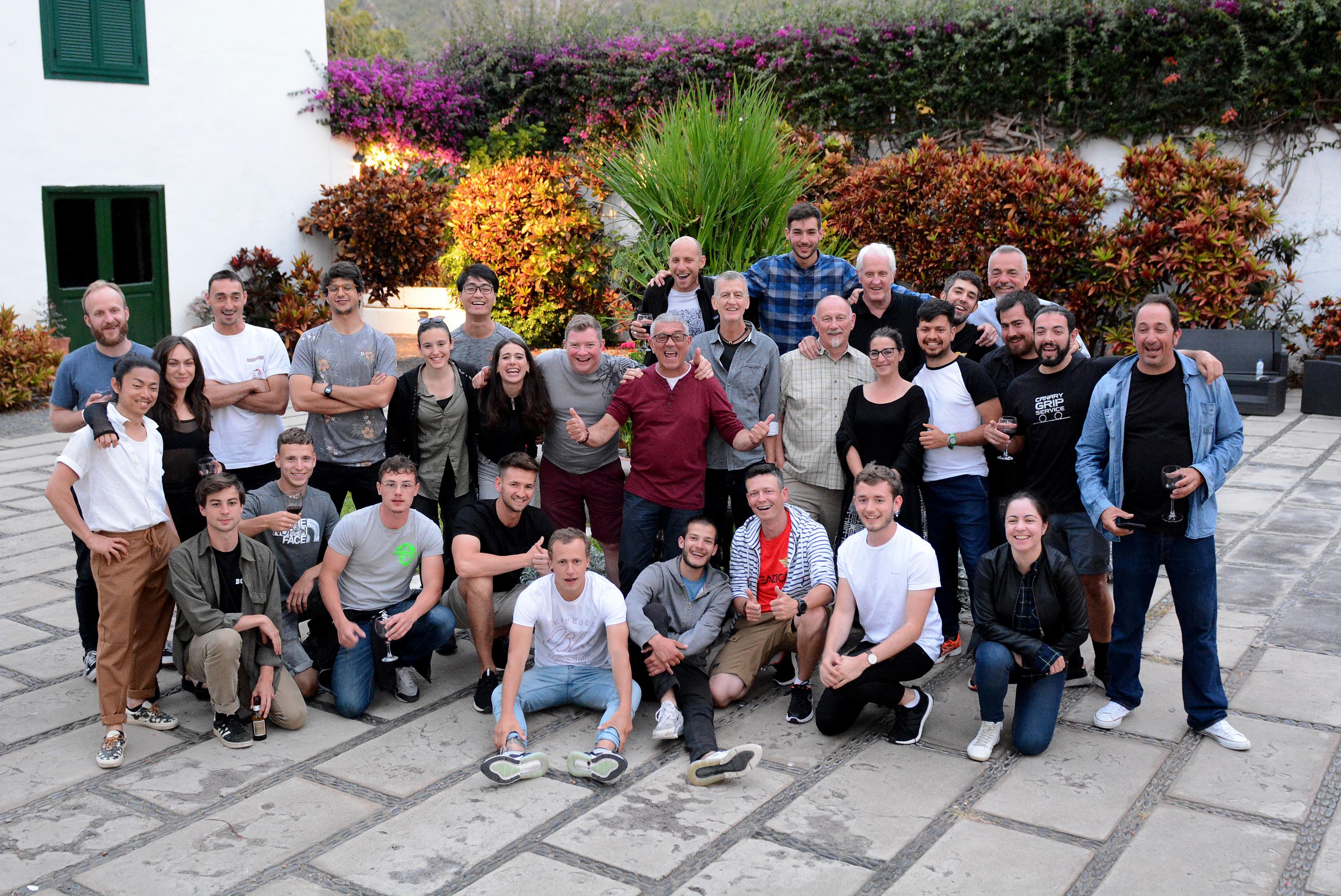 16 operadores de cámara finalizan con éxito el Steadicam Gold Workshop