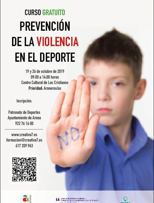 Prevención de la violencia en el deporte