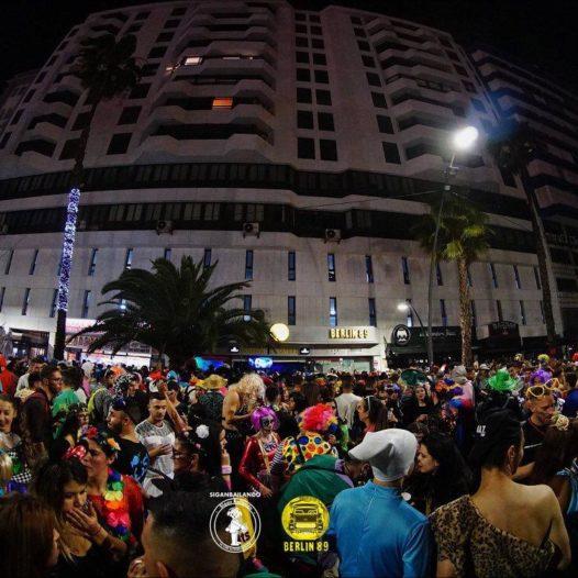 Todo listo para las grandes noches de baile de Carnaval en la Avenida Anaga