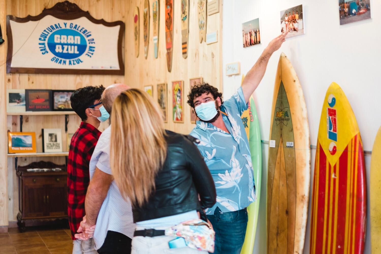 Gran Azul abre sus puertas como galería de arte dedicada al mundo del surf